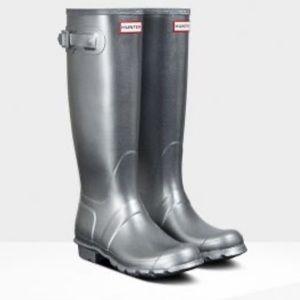 ❤️... Hunter Tall Cosmic Glitter Boots